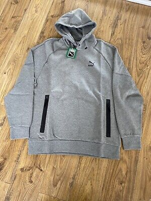 Men's Grey PUMA logo Hoody, Large, BNWT