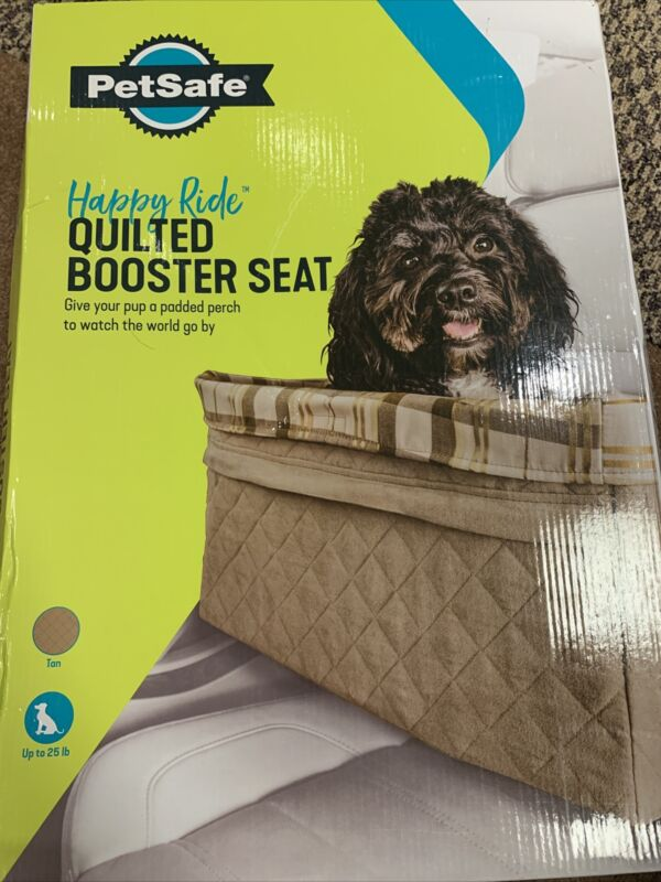 PetSafe Happy Ride Quilted Pet Booster Seat Extra Large 20 x 14 x 10 62348