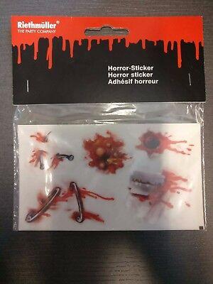ween Narben Rasierklinge blutige Wunden Nägel 129148113 (Halloween Rasierklingen)
