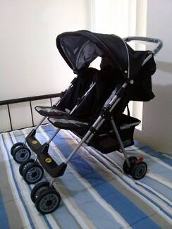 Double Delight  (Vee bee) -  Twin Stroller Cannington Canning Area Preview