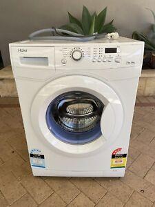 Haier 7.5kg front loader washing machine