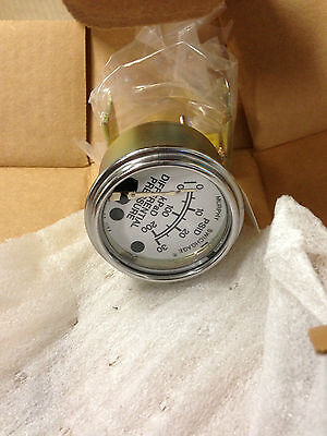 Quincy Air Compressor Differential Pressure Gauge Part Number 124972-001 Nib