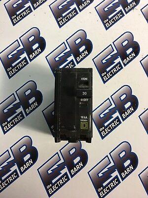 Square D Qo230 2 Pole 30 Amp 240 Volt Plug In Yellow Circuit Breaker- Warranty
