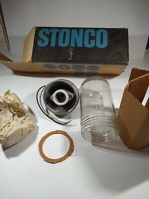 Stonco Vaportight Fixture Vp-11k Wglobe 100 W New In Box