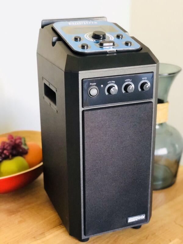 Singtrix, Portable Karaoke System, Family Bundle, SGTXCOMBO2, Open Box. READ*