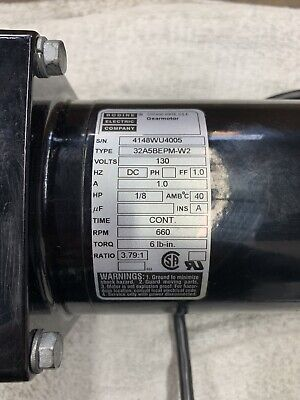Bodine Gear Motor 130 Volts