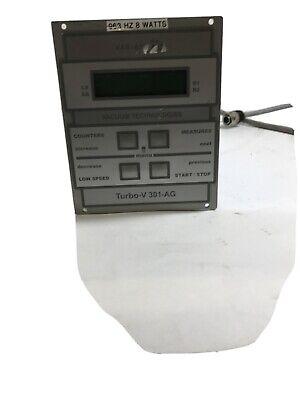 Varian V-301-ag Turbo Turbomolecular Vacuum Pump Control