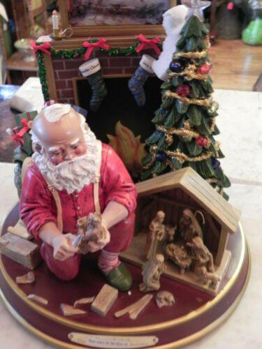 "Bradford Exchange Thomas Kinkade's ""The True Meaning Of Christmas"" Santa"