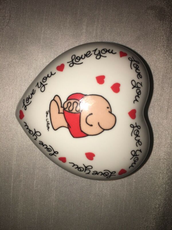 Ziggy Porcelain trinket box love you