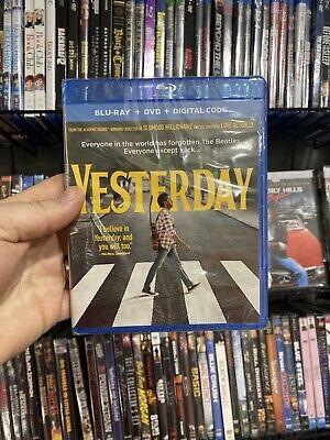 Yesterday Blu-ray Himesh Patel NEW