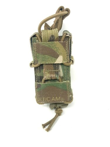 Used TYR Tactical MP Combat Adjustable Pistol Happy Mag Pouch, Multicam, USGI