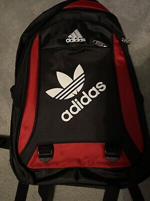 Adidas Bag Backpack Black And Red