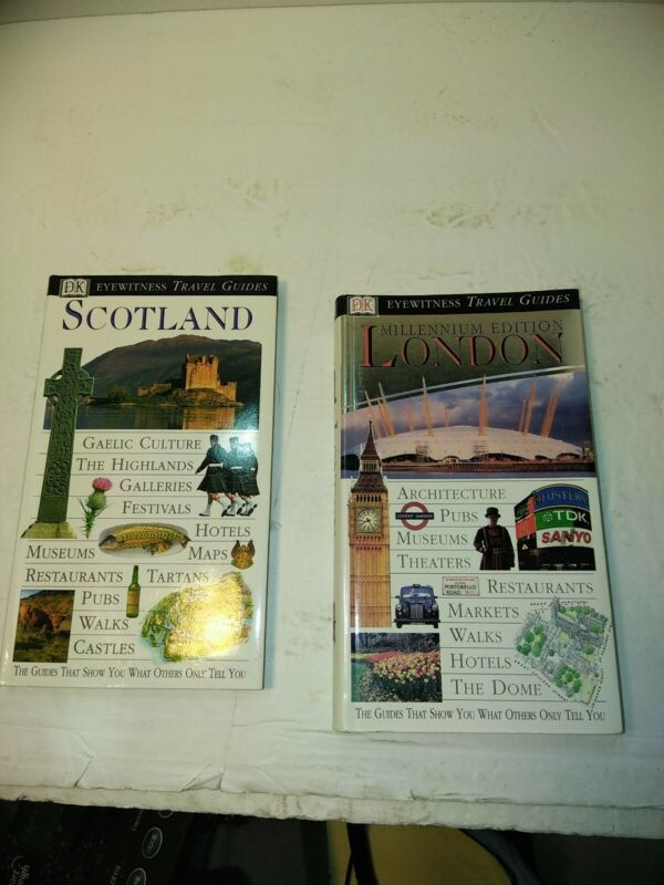 Lot Of 2 Travel Guides London And Scotland