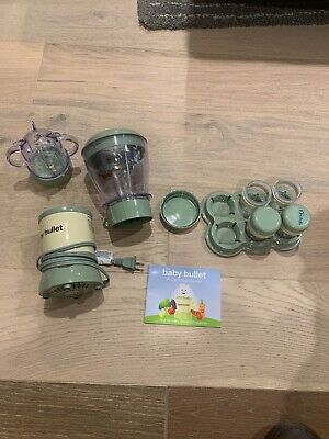 Baby Bullet Used Set - Good Condition
