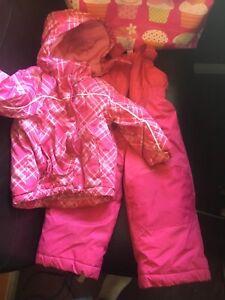 2t snow suit