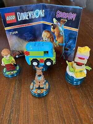 Lego Dimensions 71206 SCOOBY DOO - Used Good - Complete