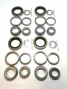 Trailer Wheel Hub Bearings Kits L44649 L68149 for 3500# 1.719'' Spindle #84 Axle