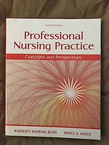 Professional nursing practice text book ( never been used )