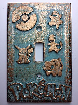 Age Light Switch Covers (Pokemon Light Switch Cover - Aged)