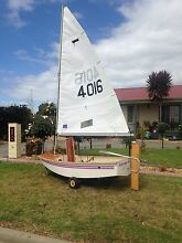 Sabot sailing boat Bairnsdale East Gippsland Preview