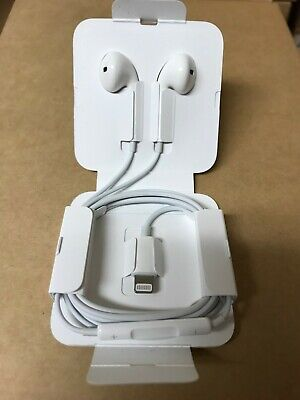 OEM NEW Apple Earpods OEM Earbud Headphones Wired - iPhone 8 X 7 Lightning