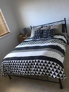 Double bed frame and mattress Seacliff Park Marion Area Preview