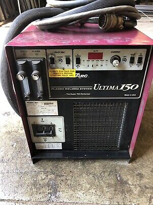 Thermal Arc Ultima 150 Plasma Welding System Cooled Super Tig Welder 199 Ship