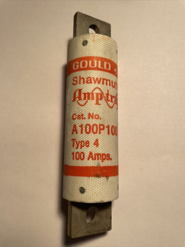 Pack of 1 Gould Shawmut Mersen A100P100 Fuses  A100P100-4