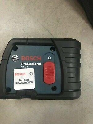 Bosch GPL3 3 Point Self Leveling Alignment Laser Level (Manufacturer Renewed)