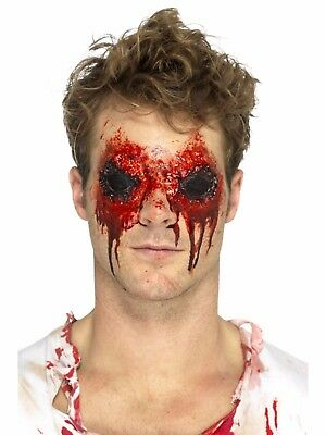 Zombie Eyes Halloween Fake Prosthetic Latex Scar Fancy Dress Special FX Make Up (Halloween Make Up Latex)