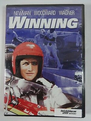 Winning Paul Newman Indianapolis 500 DVD Movie Indy New