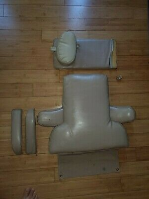 Pelton Crane Chairman Dental Chair Upholstery Set