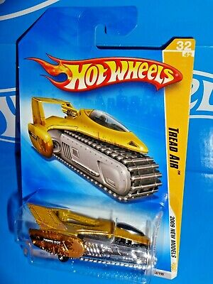 Hot Wheels 2009 Models 32 Tread Air Gold Chrome