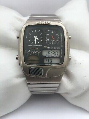 Citizen Vintage Temperature Digital Chronograph 8988Q01962 Day/Date Watch