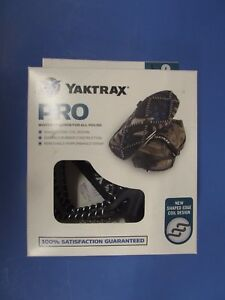 YakTrax Pro Heavy Duty Ice Traction Coils For Snow & Ice Size Large  FREE Ship