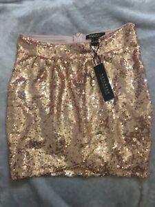 Brand new gold sparkles skirt