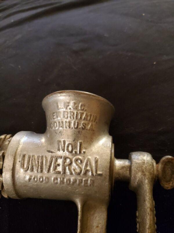 """No. 1 Universal Food Chopper:   L.F.& C New Britain Conn. USA OLD!"