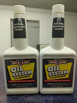 JB Justice Brothers Engine Oil System Cleaner Flush lot of 2
