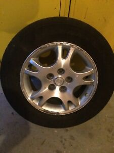 4 tires on rims  215/65/r16