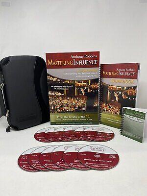 Anthony Robbins Mastering Influence 10 Day System 12 CD Set Brand New