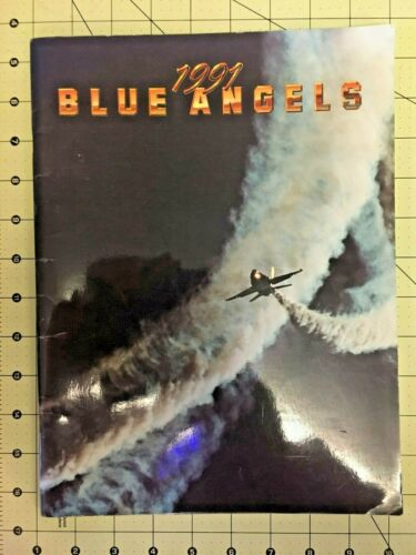 Blue Angles, US NAVY  Air Show performers, 1991 Yearbook
