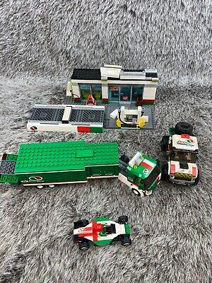 Lego Octan Racing Truck Race Car 4x4 Truck Gas Station 60115 60025 Please read