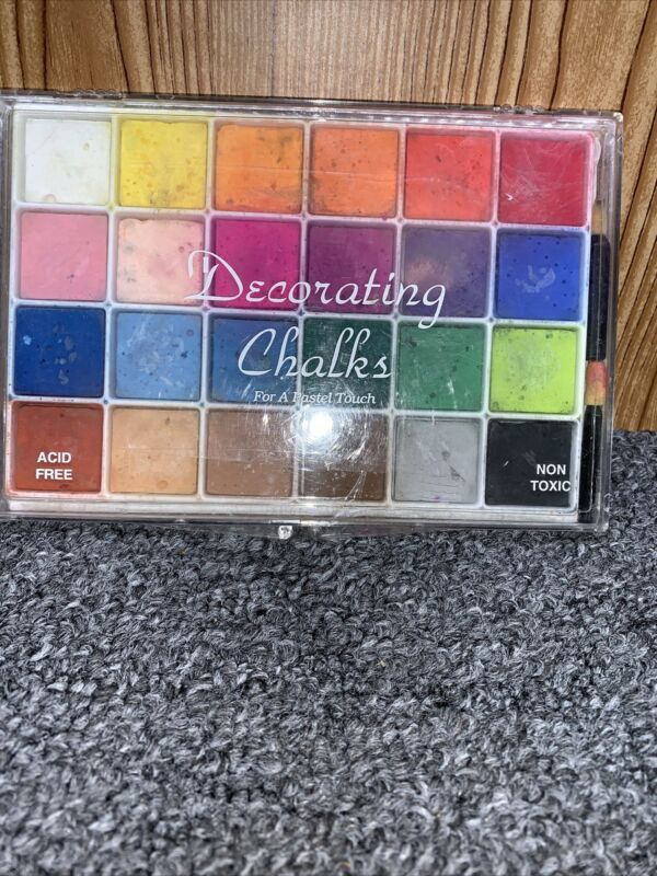 Craft-y Products Decorating Chalks Acid Free Non Toxic 24 Colors