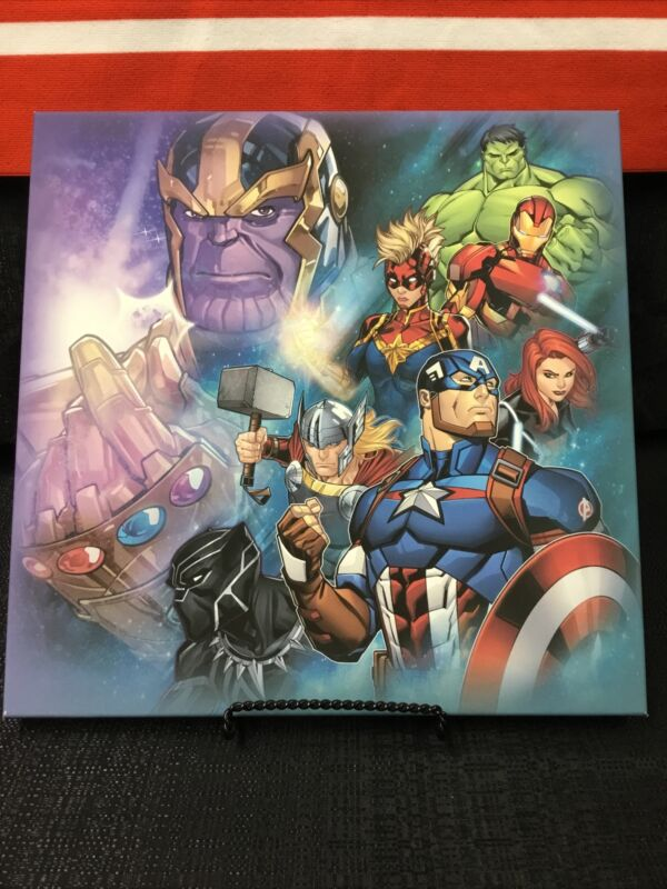 Marvel Avengers Canvas Wall Hanging Art