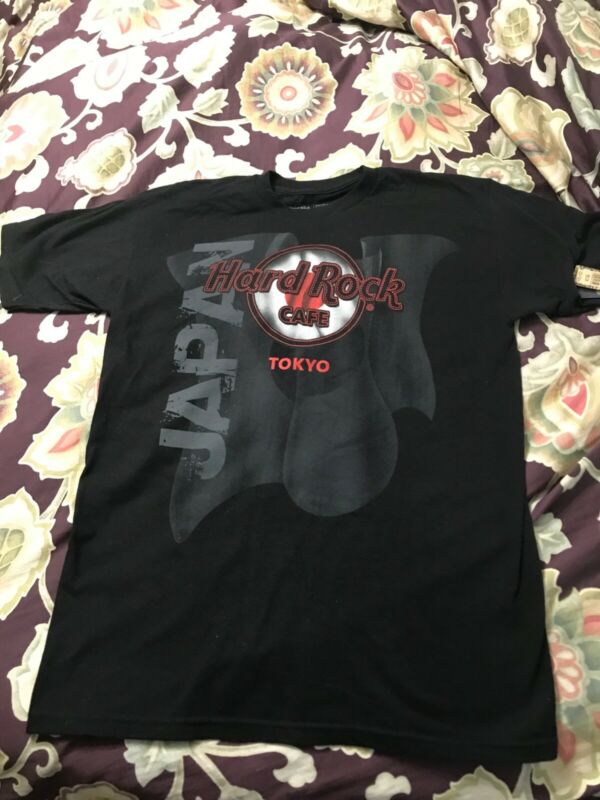 NWT HARD ROCK CAFE TOKYO JAPAN FLAG T SHIRT MEDIUM