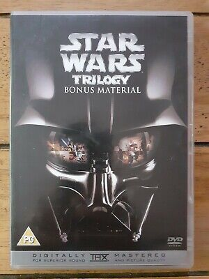 Star Wars Trilogy: Bonus Material DVD, Very Good Condition, FAST & FREE POSTAGE