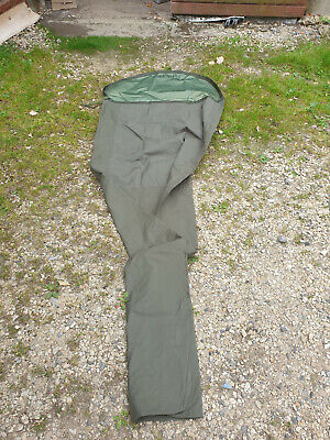 BRITISH DARK / GREY GORE-TEX BIVVY / BIVI BAG - BUSHCRAFT - GRADE 1