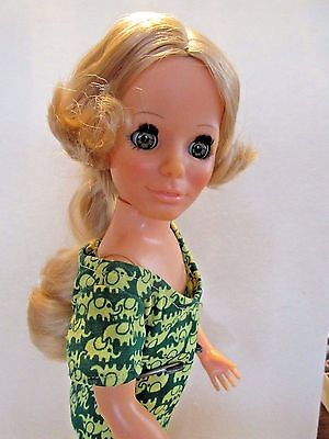VINTAGE KERRY GROW-HAIR DOLL CRISSY FAMILY