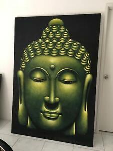 Canvas Jade Buddha