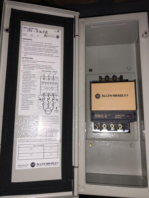 Allen-Bradley 150-A16FB Smart Motor Controller SMC-2 A-B Allen Bradley